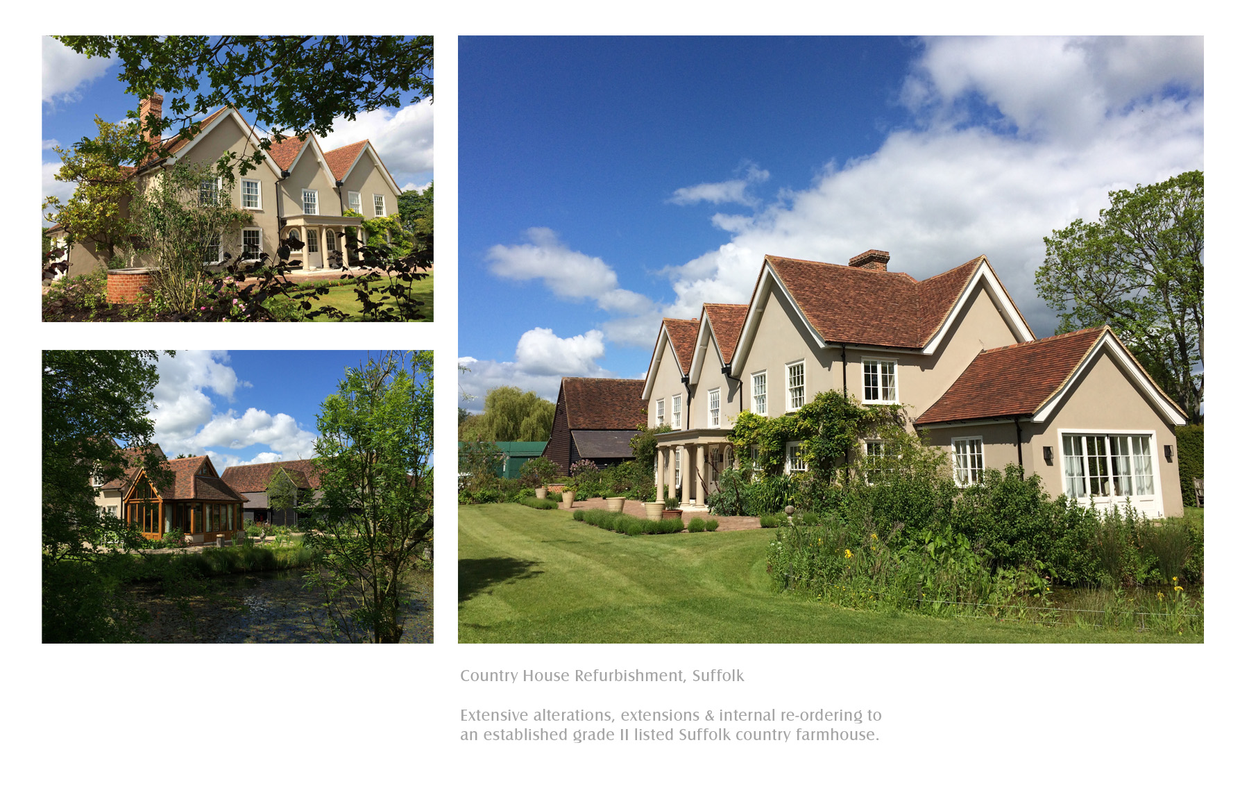 country house refurbishment, Suffolk