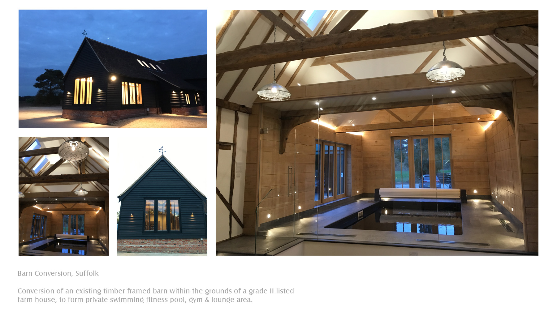 Barn conversion, Suffolk