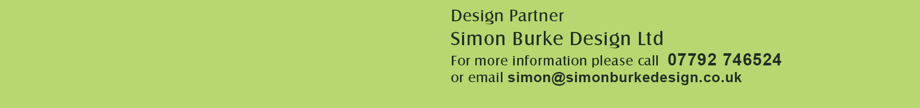 simon burke design ltd